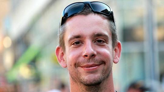 Martin Kavan alias pošťák Ondra v civilu.