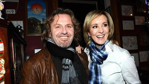 Pepa Vojtek s manželkou Jovankou.