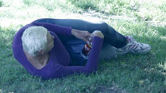 Zřízená Brigitte Nielsen.