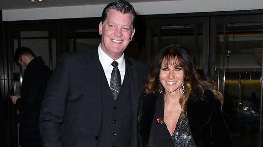 Linda Lusardi s manželem Samuelem Kanem