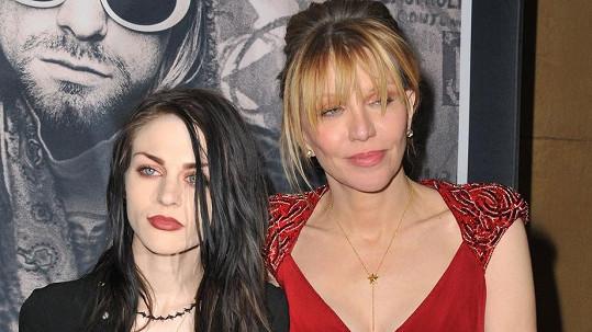 Frances Bean Cobain a Courtney Love