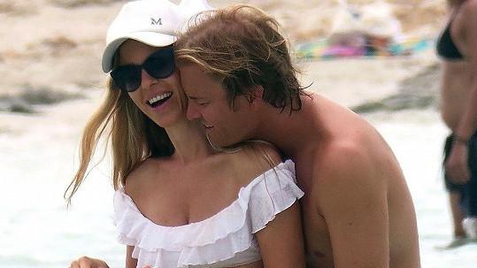 Nico Rosberg s manželkou
