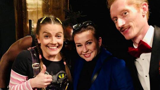 Dana Morávková s britskými kolegy
