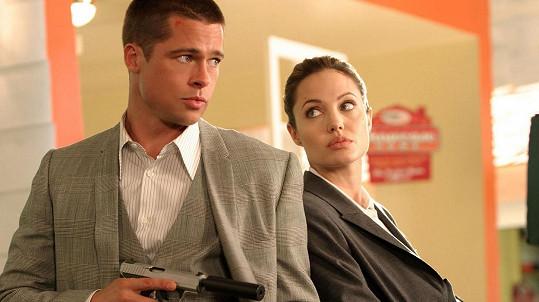 Brad Pitt a Angelina Jolie už nejsou parťáci jako ve filmu Pan a paní Smithovi.