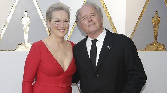 Meryl Streep s manželem Donem Gummerem