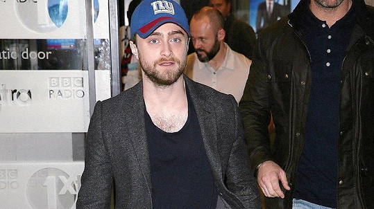 Daniel Radcliffe je hubeňour.