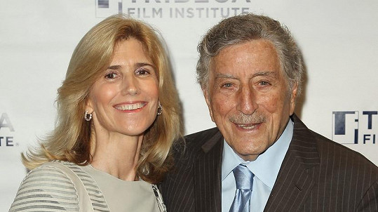 Tony Bennett a jeho žena Susan Crow
