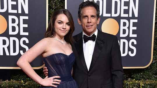 Ben Stiller s šestnáctiletou dcerou Ellou Olivií