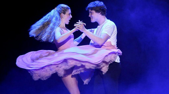 Henrieta Hornáčková si splnila sen - zatančila si slavnou choreografii z Hříšného tance.
