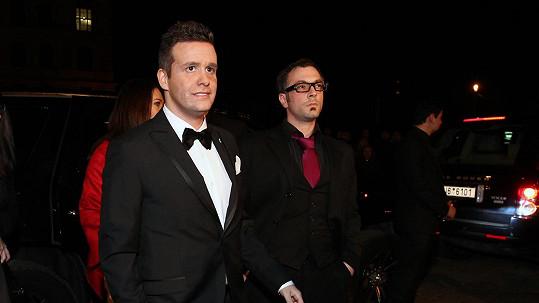 Organizátoři večera tvrdí, že amerického herce nikdo nepoznal...