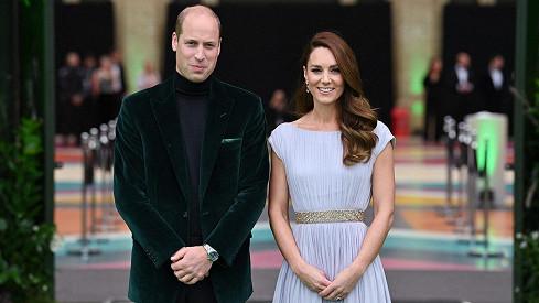 Kate a William na udílení cen Earthshot