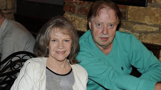 Eva Pilarová s manželem Honzou Kolomazníkem