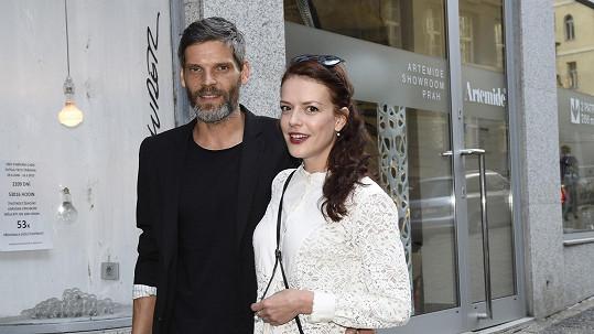Andrea Kerestešová s nyní již manželem Mikolášem Růžičkou