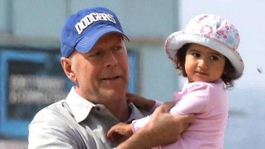 Bruce Willis s dcerkou Mabel
