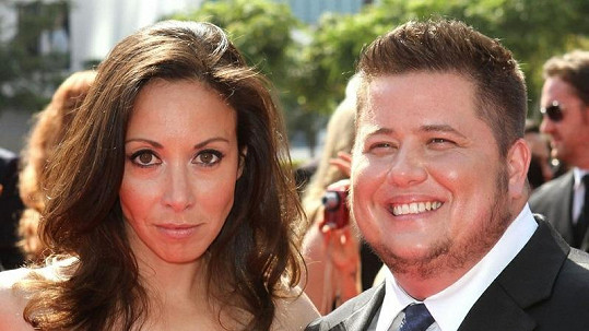 Chaz Bono a jeho snoubenka Jennifer Elia.