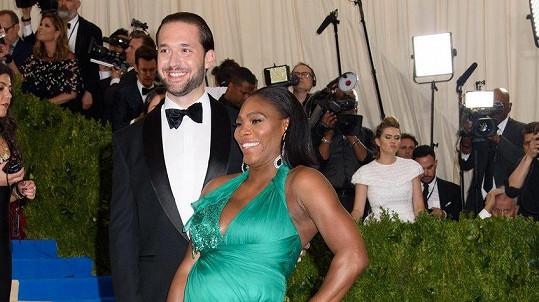 Alexis Ohanian a Serena Williams