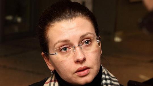 Nenalíčená Dana Morávková.