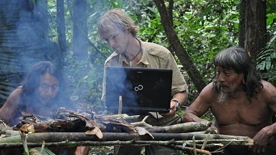 Jakub Vágner během svých výprav za indiány.