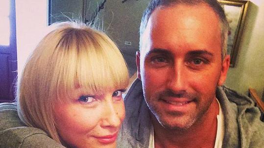 Dominika Mesarošová s přítelem Markem