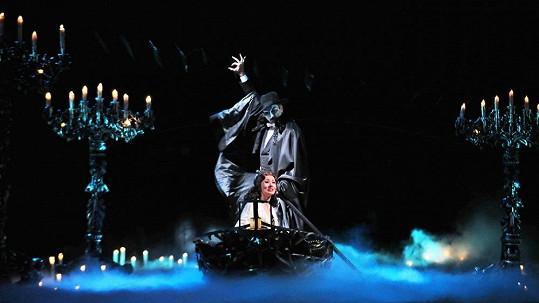 Fantom Opery bude mít v Praze úchvatnou scénu.
