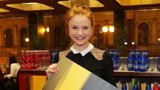 Marie Doležalová získala cenu za svůj blog.