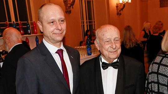 Stanislav Zindulka se synem