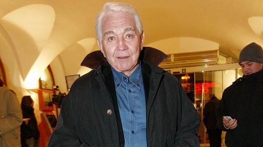 Jiří Krampol měl štěstí, že z nehody na dálnici vyvázl bez zranění.