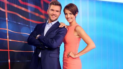 Gabriela Lašková a Matěj Misař tvoří novou moderátorskou dvojici.