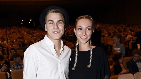 David Gránský s přítelkyní chodí od sedmnácti let.