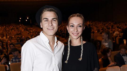David Gránský s přítelkyní Niki