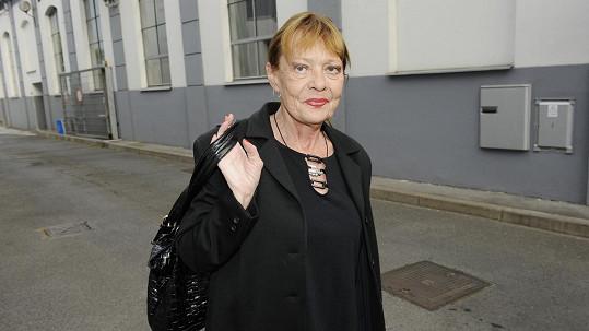 Jana Šulcová si doma přivodila zranění.