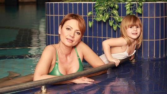 Jolana Voldánová s dcerou Kačenkou.
