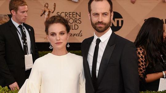 Natalie Portman a Benjamin Millepied mají dceru.