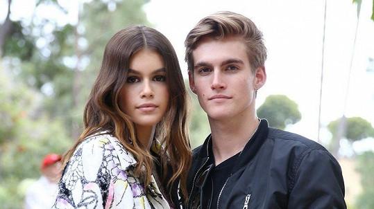 Presley Gerber se sestrou Kaiou