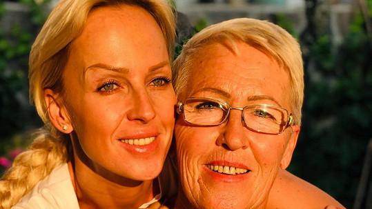 Zuzana Belohorcová s maminkou