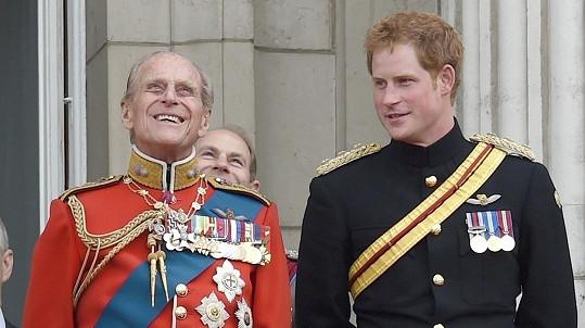 Princ Harry s vévodou z Edinburghu