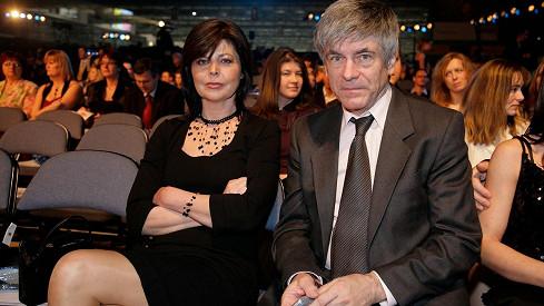 Andrea Čunderlíková s manželem Ladislavem Kleinem na archivní fotce z roku 2009.
