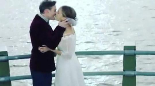 Lucie Vondráčková a její filmová svatba