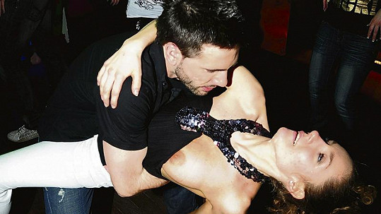 Andrea Gabrišová před dvěma lety na bujarém večírku.