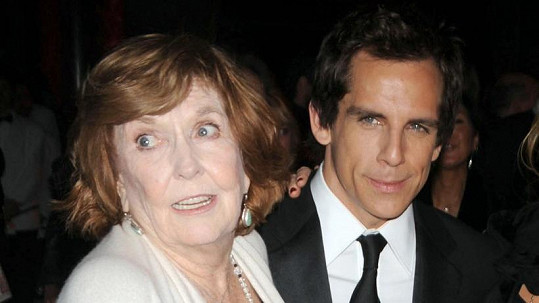 Ben Stiller s maminkou