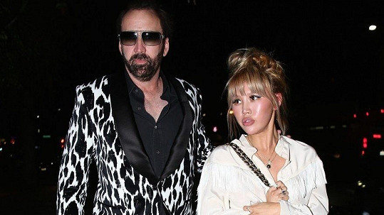Nicolas Cage a Erika Koike