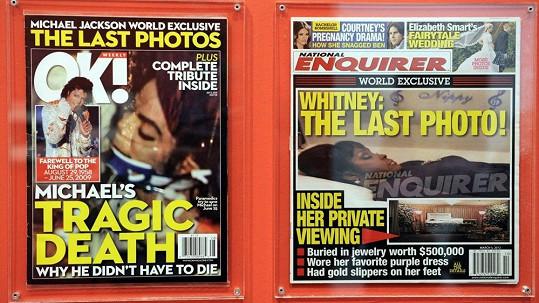 Poslední fotografie Michaela Jacksona a Whitney Houston