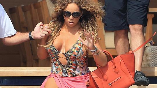 Mariah Carey si život bez podpatků asi ani nedokáže představit...