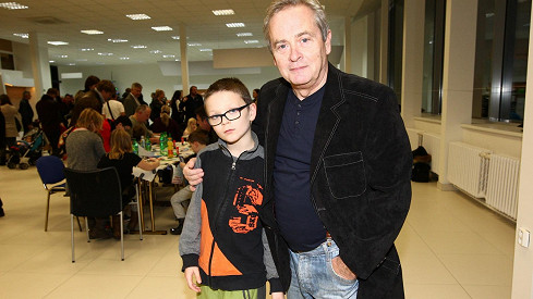 Alexander Hemala s vnukem