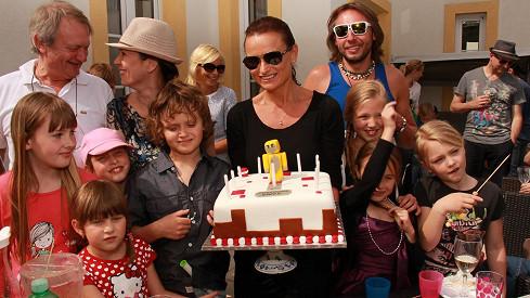 Daniel Adamec slavil v neděli deváté narozeniny.