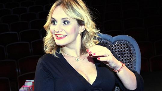 Monika Absolonová včera oslavila narozeniny koncertem.