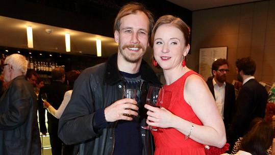 Marie Doležalová a Marek Zelinka tvoří krásný pár.