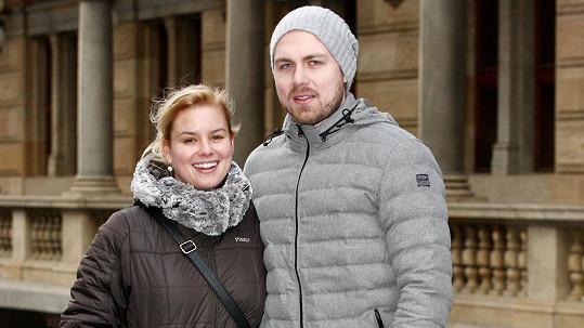 Patricie Solaříková s Markem Fryčákem z Eddie Stoillow