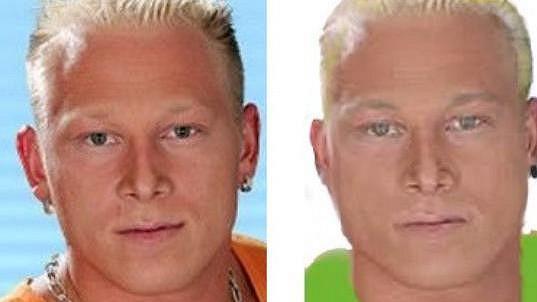 Shrek na fotce z roku 2004 a čerstvý policejní identikit