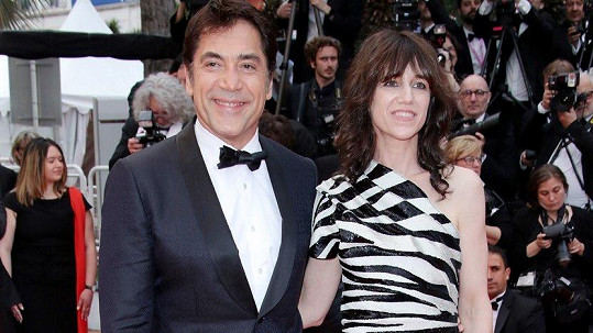 Javier Bardem a Charlotte Gainsbourg